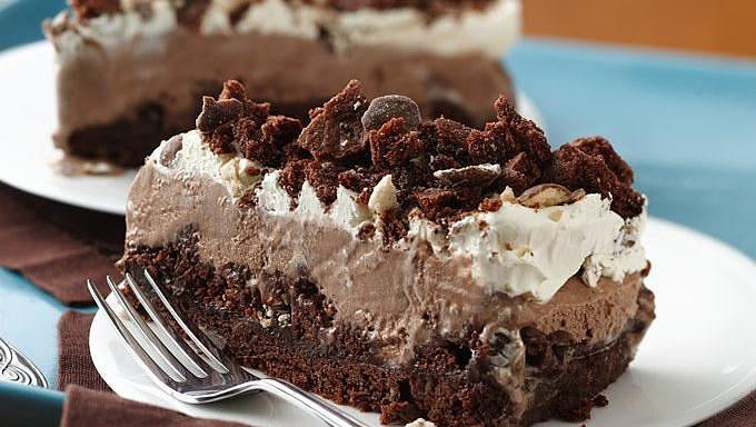 Ice Cream Cookie Cake