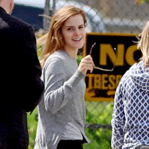 Emma Watson on the Set After Her Graduation | Pictures