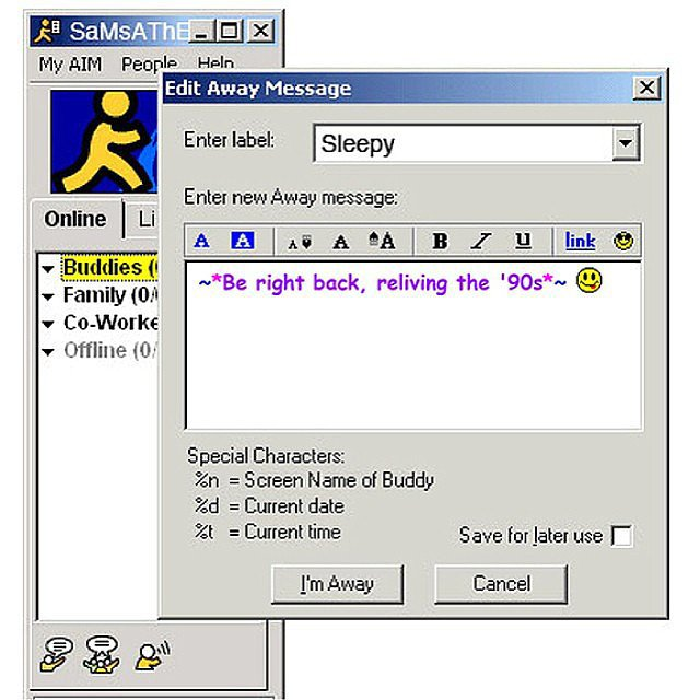 aol icon sex