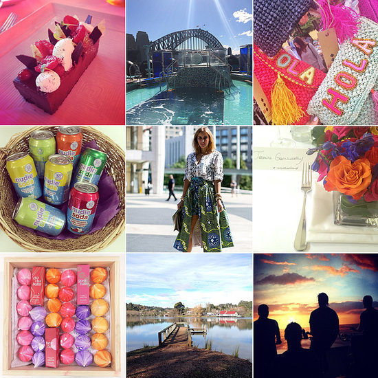Celebrity Fashion Beauty And Health Editor's Instagrams