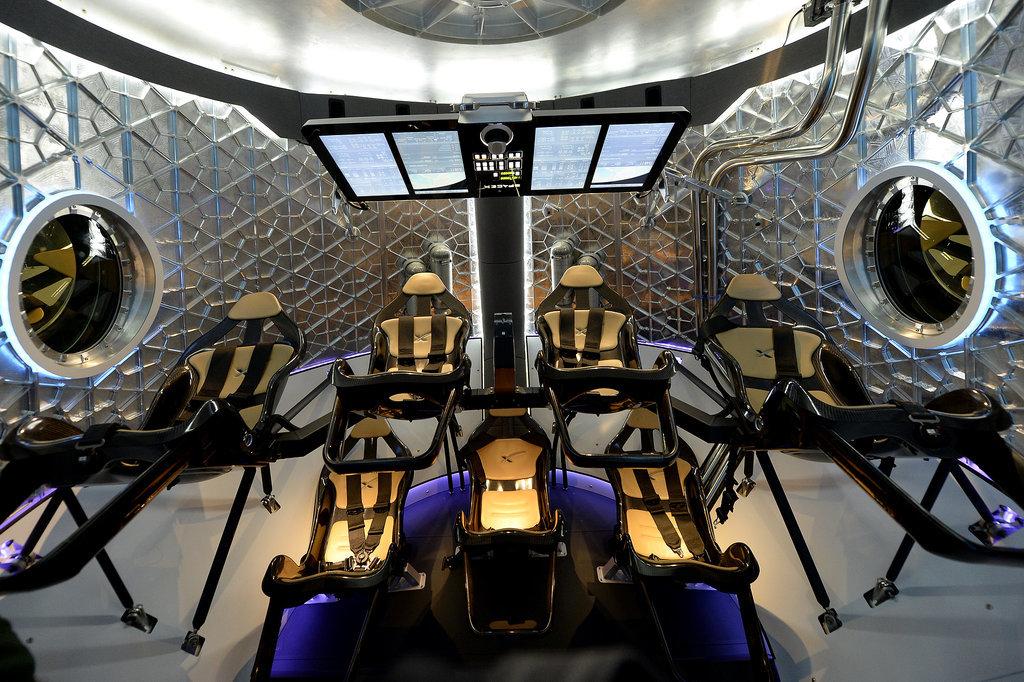 SpaceX Dragon V2 Interior