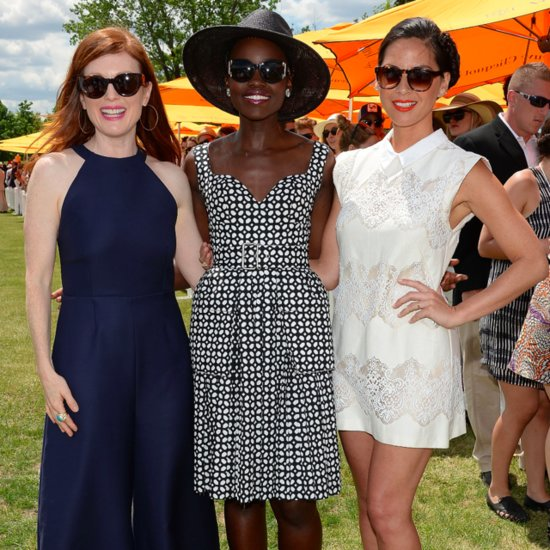 Celebrities at Veuve Clicquot Polo Classic 2014 | Photos