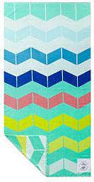 Cotton Chevron Beach Towel