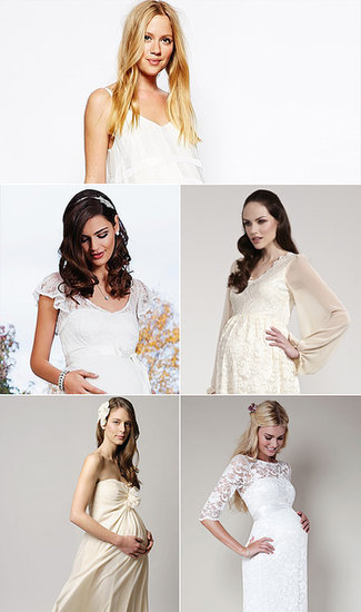 Here Comes the Bride . . . and Baby! 15 Wedding Dresses For Moms-to-Be