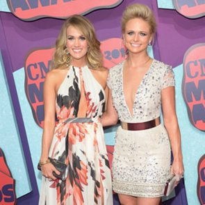 Celebrities on the Red Carpet at the CMT Awards 2014