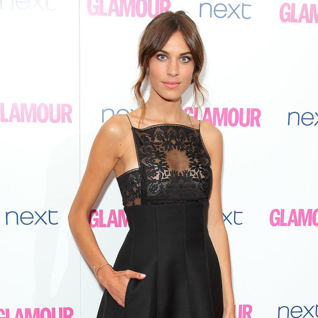 Alexa Chung, Sam Claflin at Glamour Women of the Year 2014