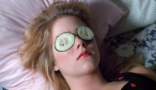 """""""Every woman over 25 should have a cucumber in the house."""""""