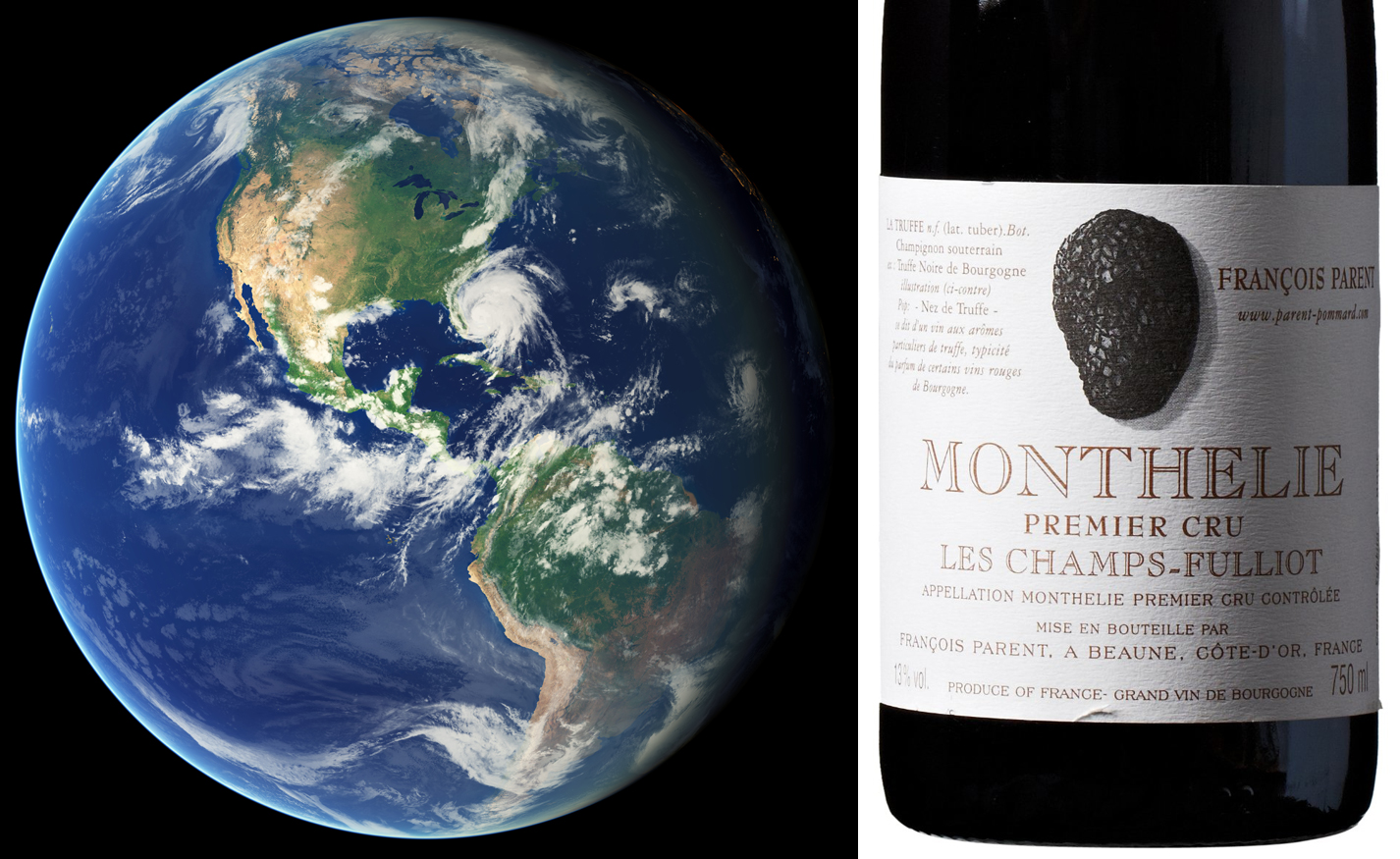 Earth and Burgundy Pinot Noir