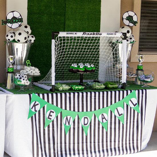 Girls' Soccer Birthday Party