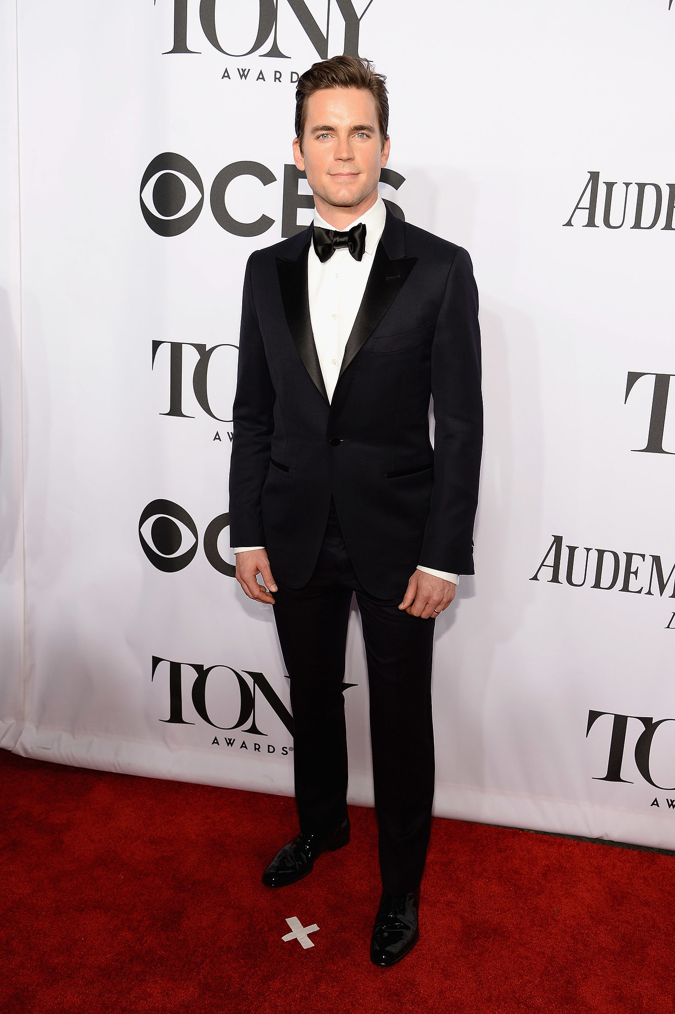 Matt Bomer looked as handsome as ever.