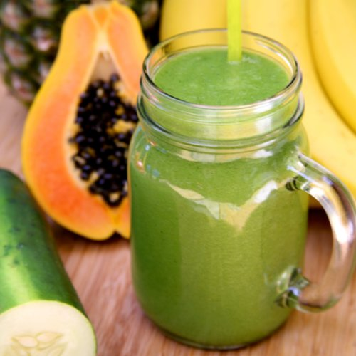 Tropical Smoothie Recipe to Debloat | POPSUGAR Fitness ...