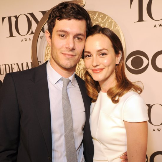 Leighton Meester and Adam Brody Together at 2014 Tony Awards