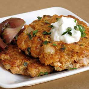Healthy Spa Recipe For Breakfast Salmon Sausage Patties