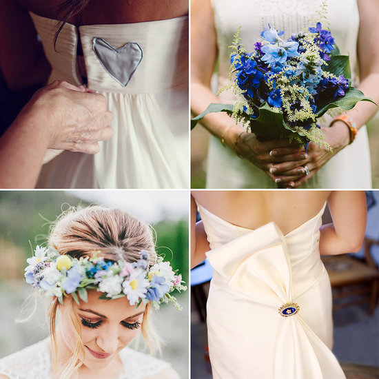 """24 Surprisingly Special Ways to Wear Your """"Something Blue"""""""