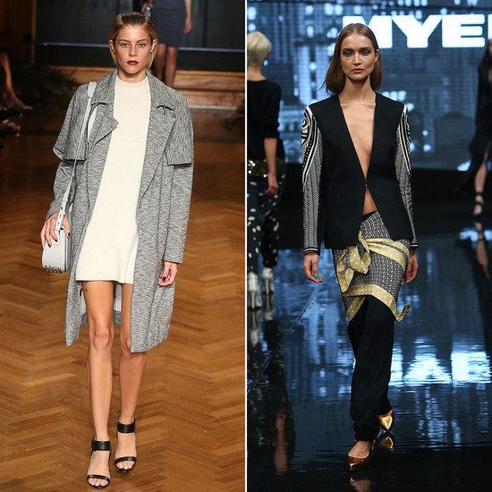 David Jones and Myer 2014 Autumn Winter Fashion