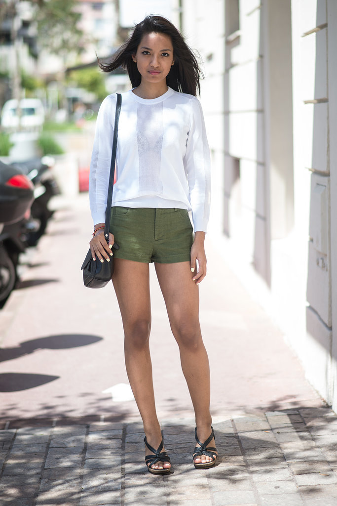 Neutrals feel just as summery as a pair of bright shorts; they also look infinitely more classic.