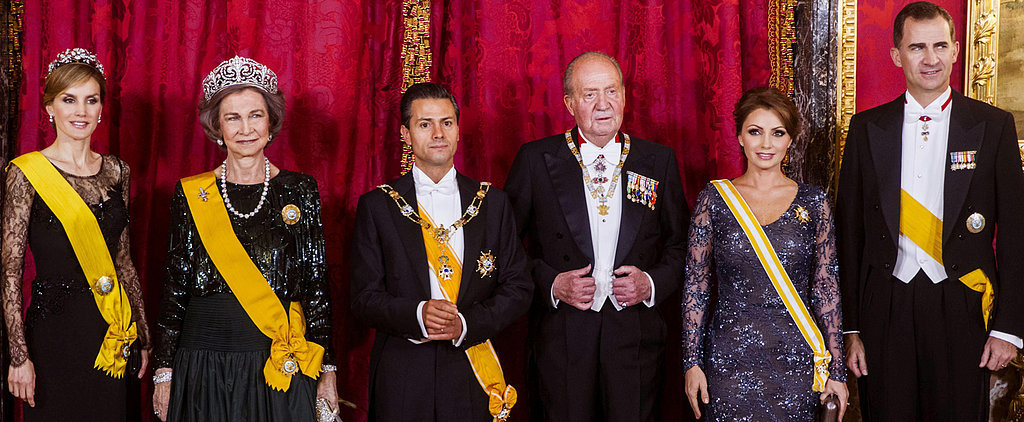 The Spanish Royals Host One Very Glamorous Dinner