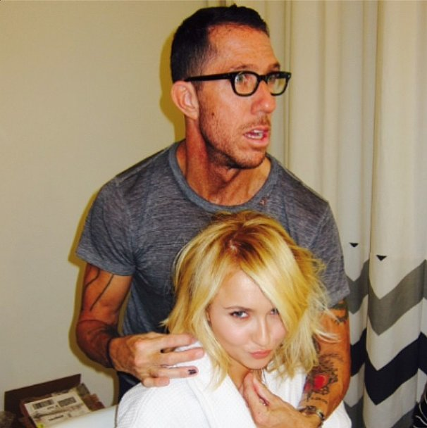 Celebrity Hair & B... Hayden Panettiere Instagram