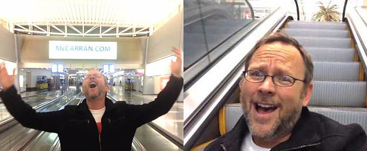 """Celine Dion Reacts to That Guy's """"All by Myself"""" Airport Music Video"""