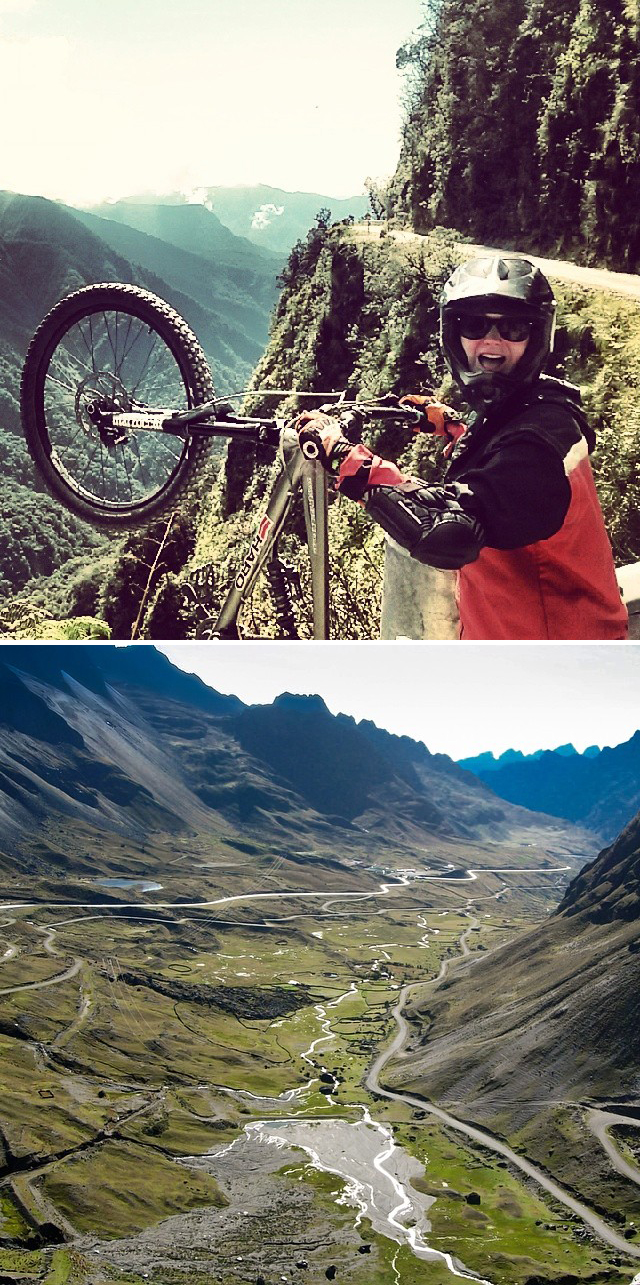 Bike Down Death Road in Bolivia