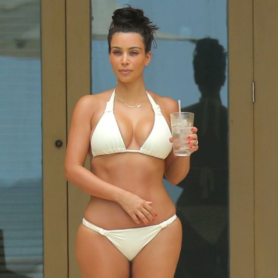 Kim Kardashian and Kanye West Honeymoon in Mexico | Pictures