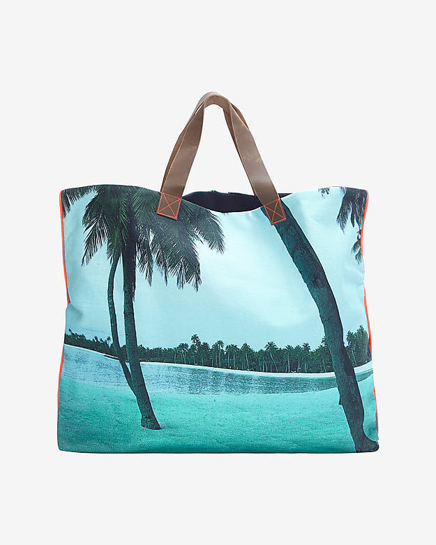 Dezso Printed Beach Tote