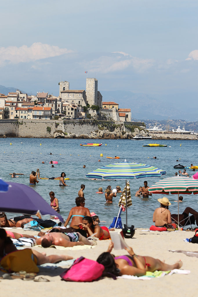 Sunbathe (Topless, if You Dare!) on the French Riviera