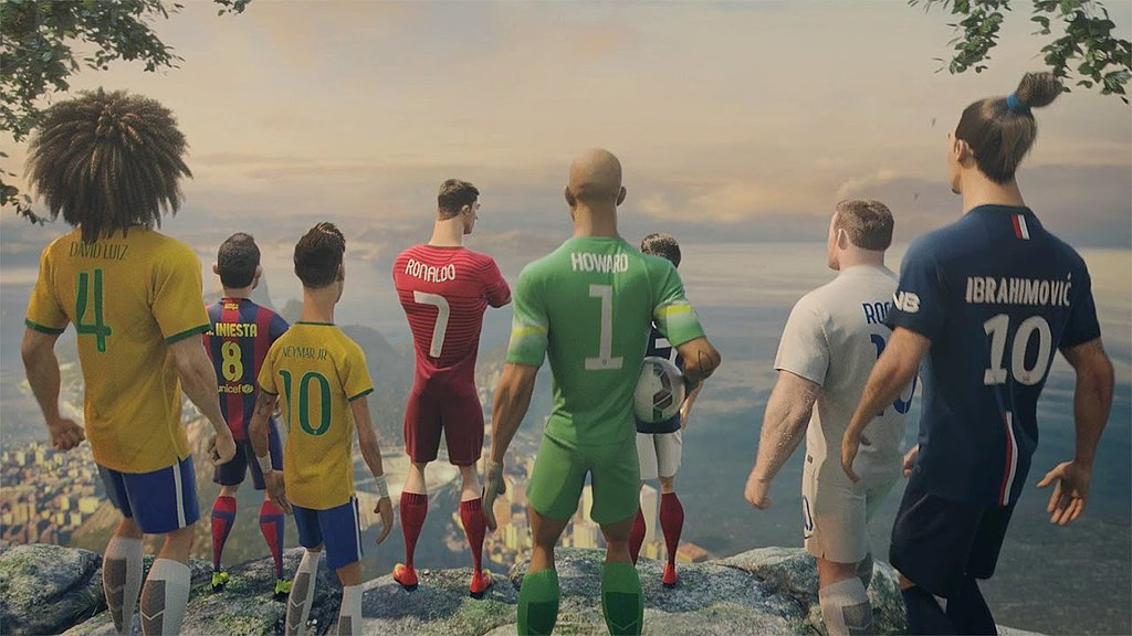 "Nike Football: ""The Last Game"""