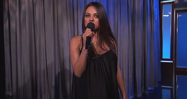 "Mila Kunis Warns Dads-to-Be to Stop Saying ""We're Pregnant"""
