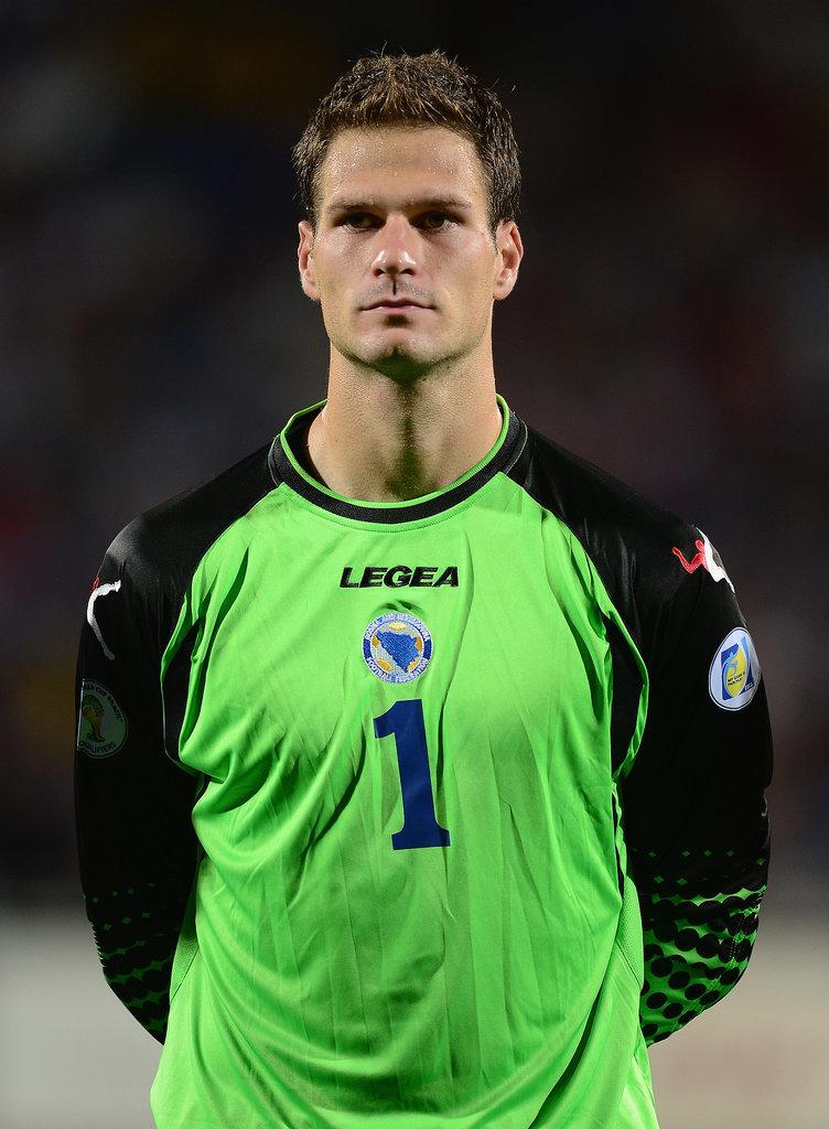 Asmir Begović, Bosnia-Herzegovina