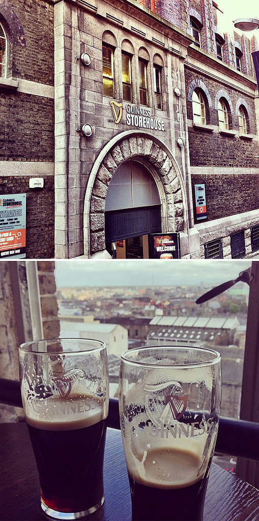 Go to the Guinness Brewery in