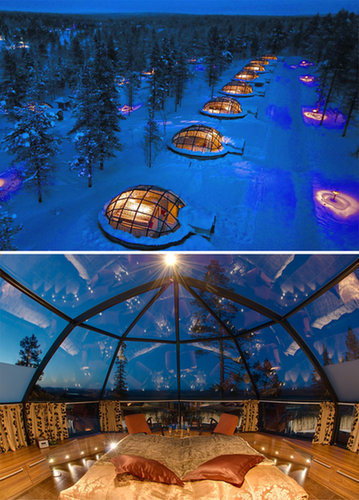Stay in a Glass Igloo in Finland