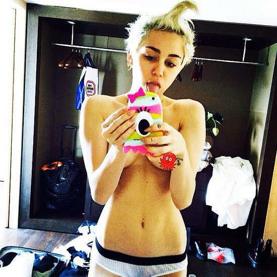 Miley Cyrus's Topless Instagram Picture