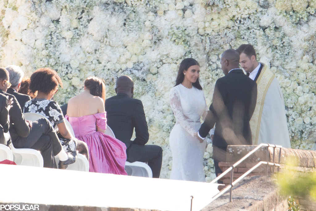Look Back on Kim Kardashian and Kanye West's Lavish Italian Wedding Photos