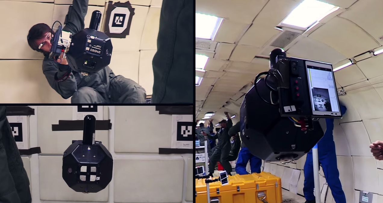 A Tablet That Can Map a Room in 3D . . . in Zero Gravity