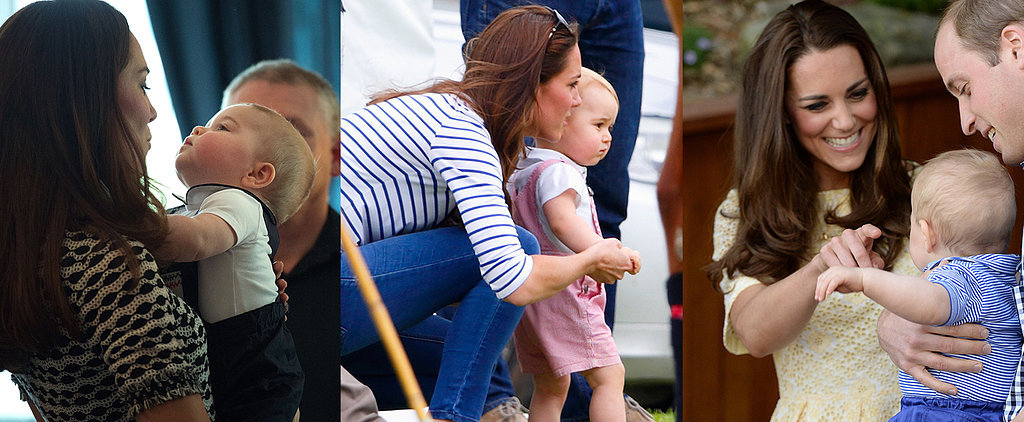 The 24 Sweetest Snaps of Prince George and Kate Middleton