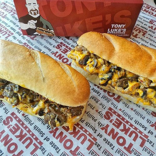 Eat a Philly Cheesesteak in Philadelphia