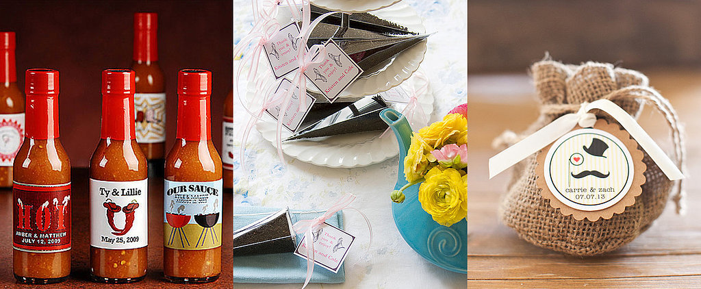 Show Your Thanks With Edible Wedding Favors
