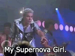 When Microbe Performs in Space in Zenon: Girl of the 21st Century