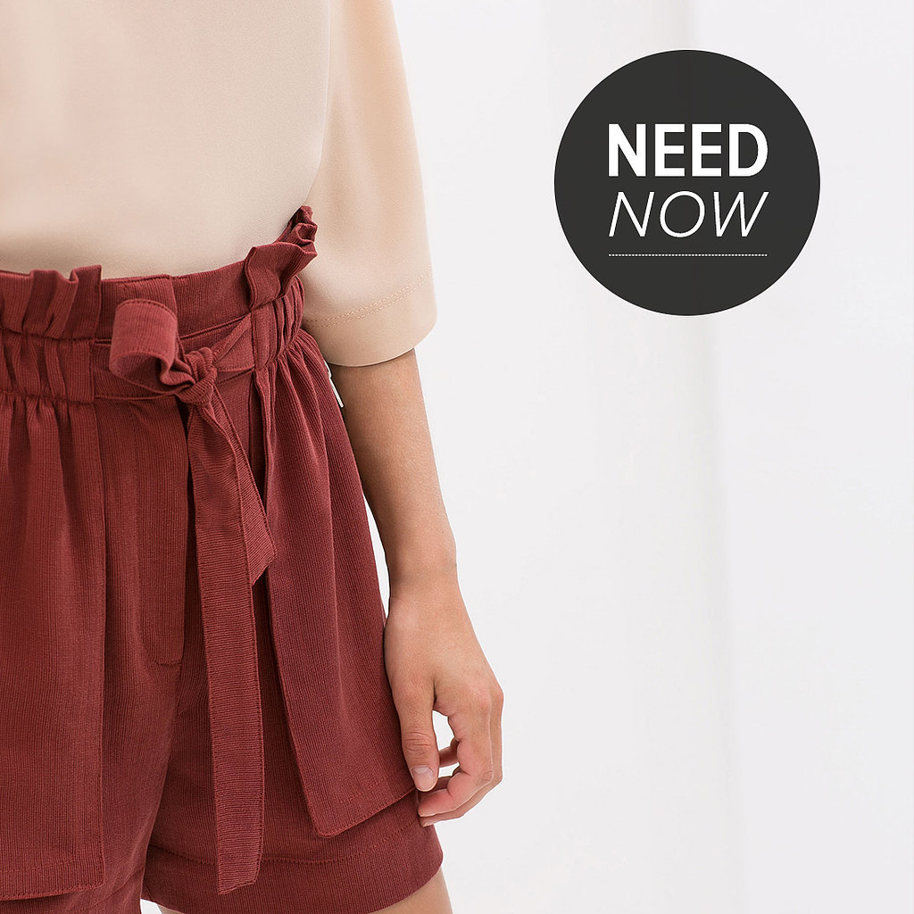 Paper-Bag Waist Pants