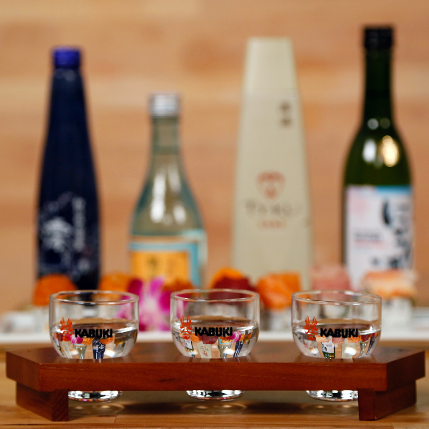How pair sake food