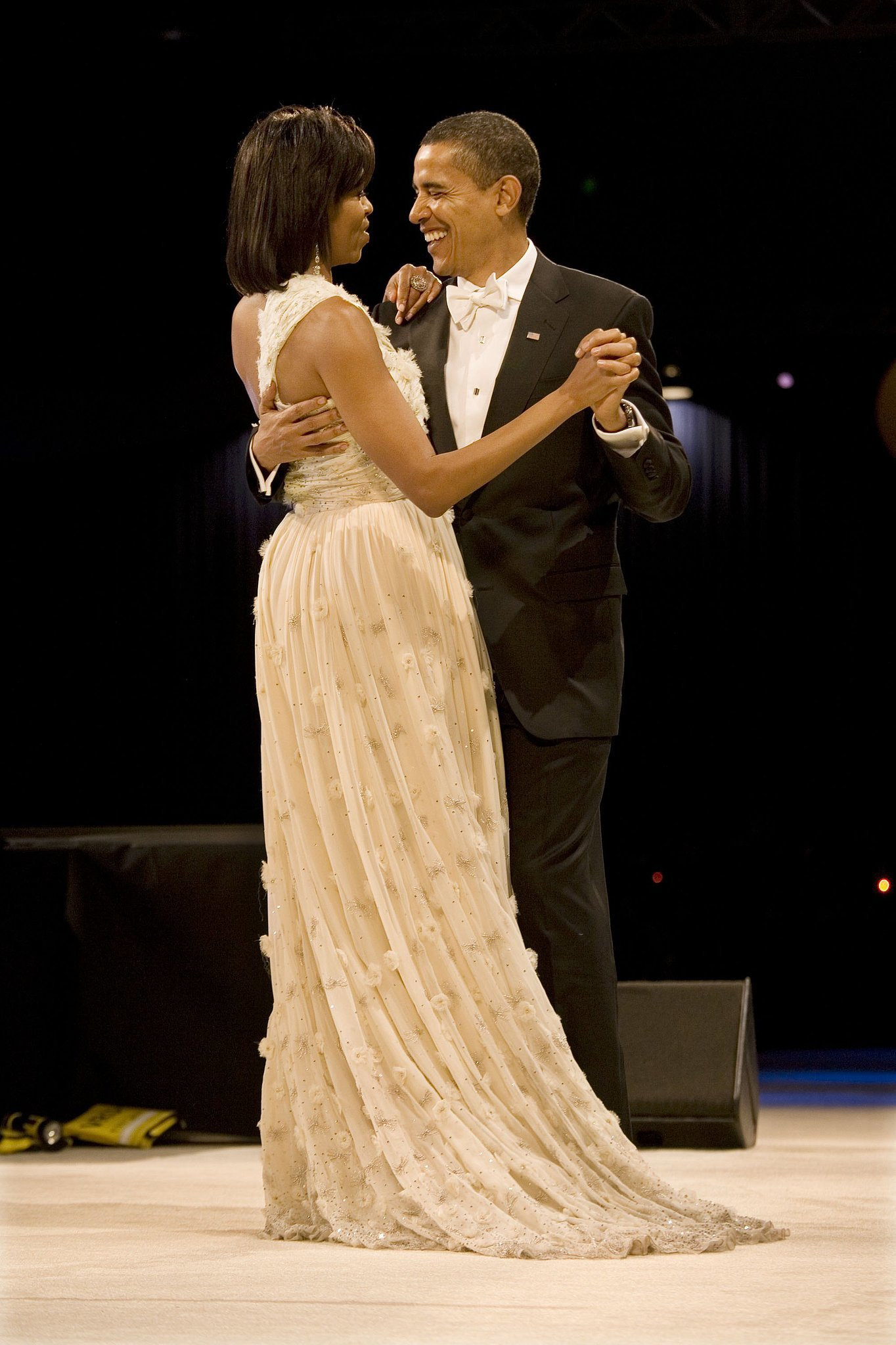 Michelle Obama at the Inaugural Ball in 2009