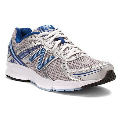 Womens New Balance Shoes W470v3 Silver Blue
