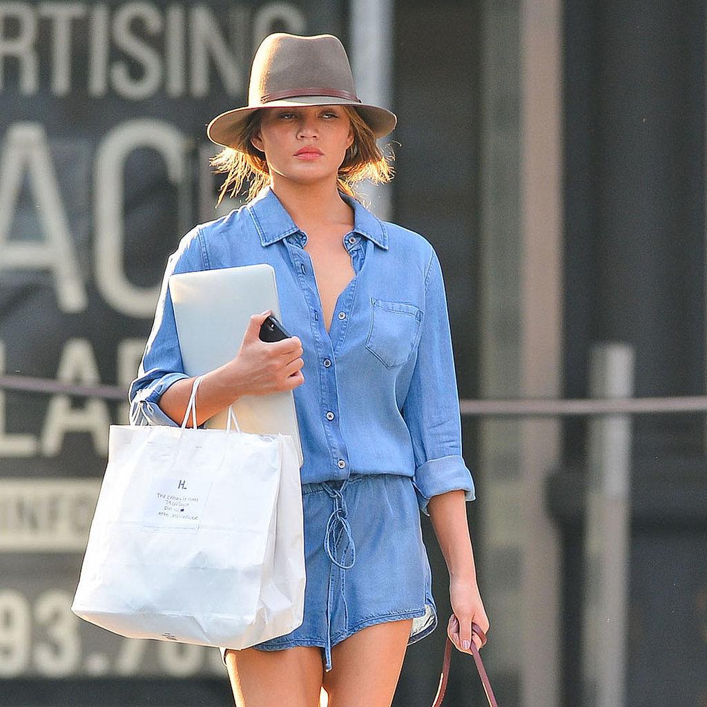 Chrissy Teigen Street Style