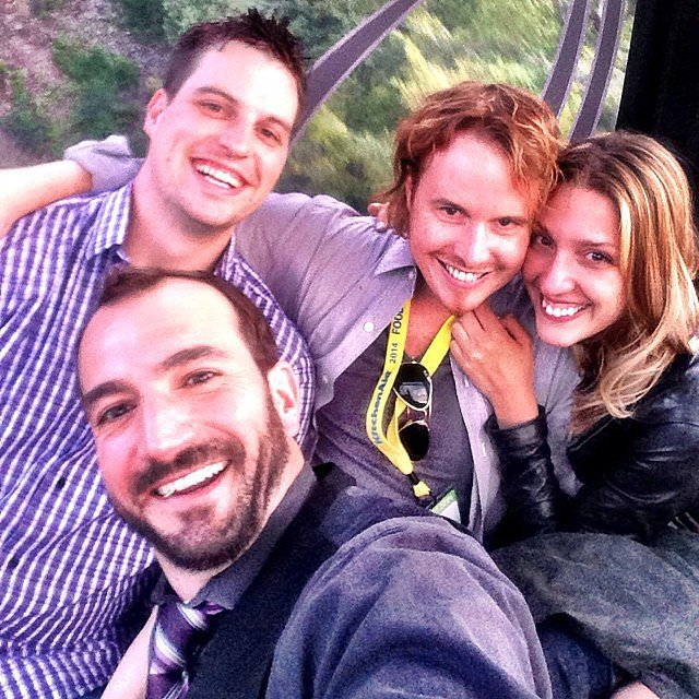 Grant Achatz Went For a Gondola Ride