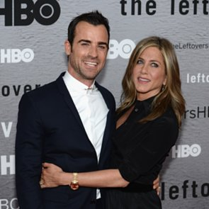 Justin Theroux and Jennifer Aniston The Leftovers Premiere