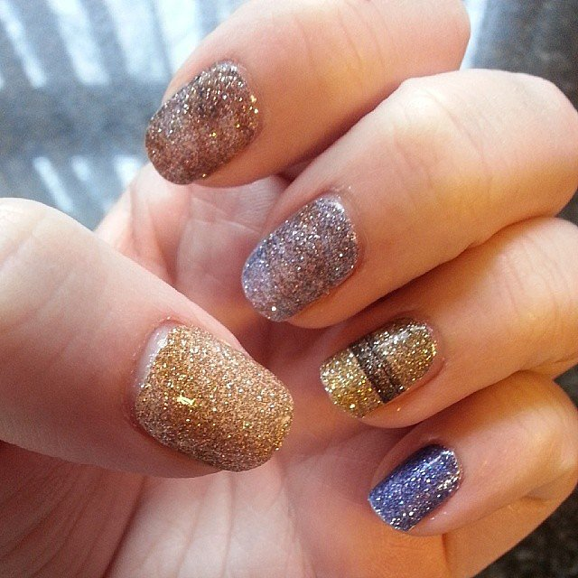 At first glance, the casual observer will just think your nails have a pretty sparkle to them, but you know that the subtle shimmer of these wraps ($10) actually represents the planets of the solar system.