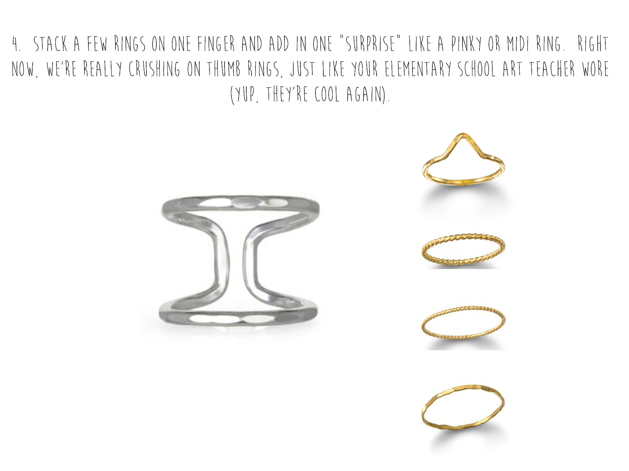 Stack Your Delicate Rings