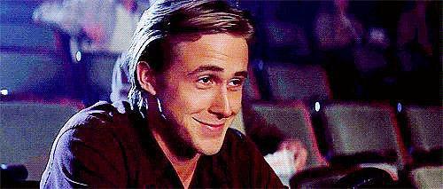 When He Smirks His Way Through Their Movie Date