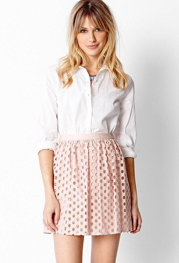 Forever 21 Eyelet Skirt